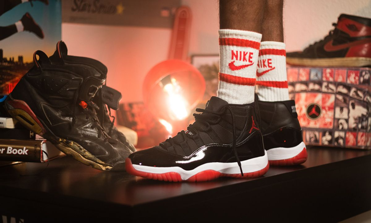 The Air Jordan 11 Bred Was Nike S Biggest Sneaker Drop Ever