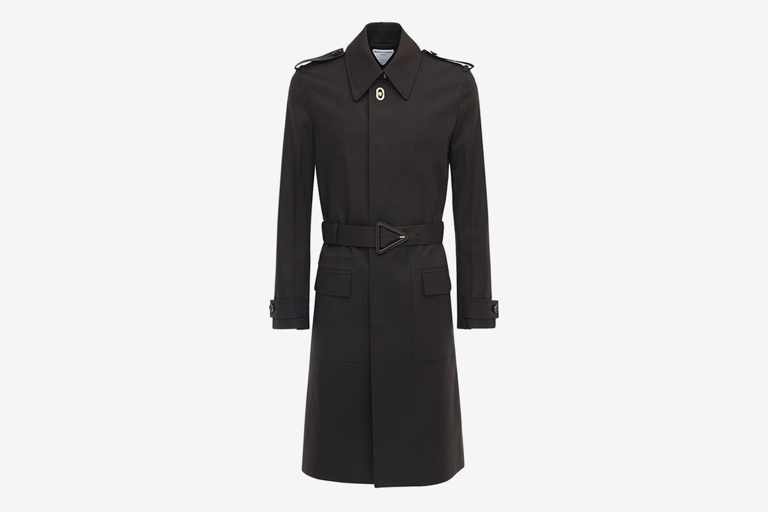 Waterproof Stretch Cotton Trench Coat
