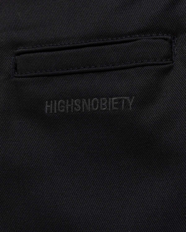 Highsnobiety x Dickies – Pleated Work Pants Black - Image 4