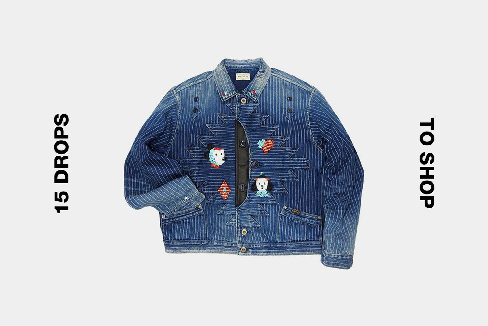 kapital wabash denim jacket best drops buy Acne Studios JJJJound Maison Mihara Yasuhiro