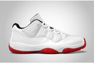 reputable site 42f5b 15f26 Air Jordan 11 Low White Varsity Red