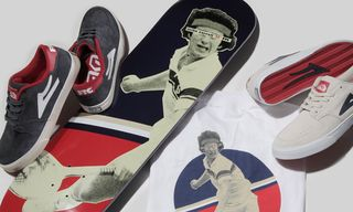 Girl x FTC x Lakai MC5 Sneaker, Deck & T-Shirt