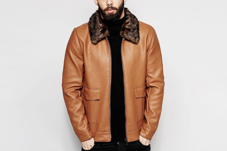 Harrington Jacket With Faux Fur