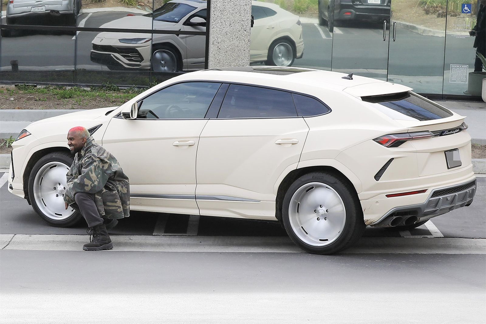 Opinions Are Mixed About Kanye West S Customized Lamborghini