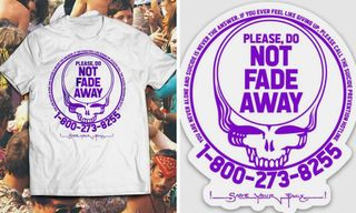 Dead Bootleg Debuts Grateful Dead-Inspired Suicide Prevention T-Shirt