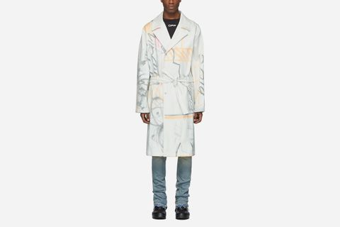Futura Edition Trench Coat