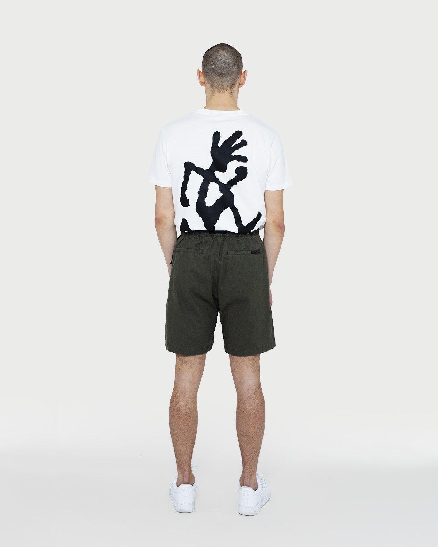 Gramicci - Linen Cotton G-Shorts Olive - Image 4