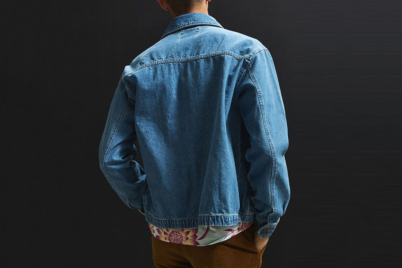 Denim Harrington Jacket