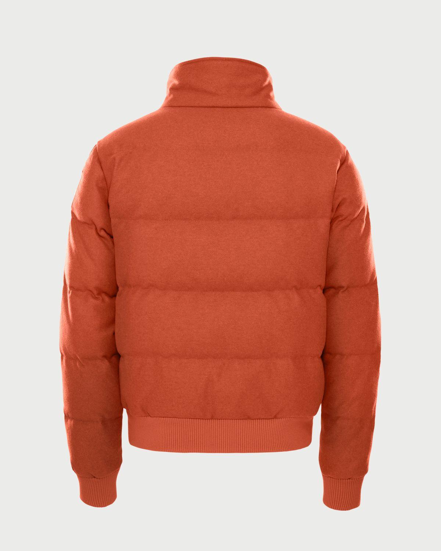 The North Face Brown Label — Larkspur Wool Down Jacket Heritage Orange Men - Image 2