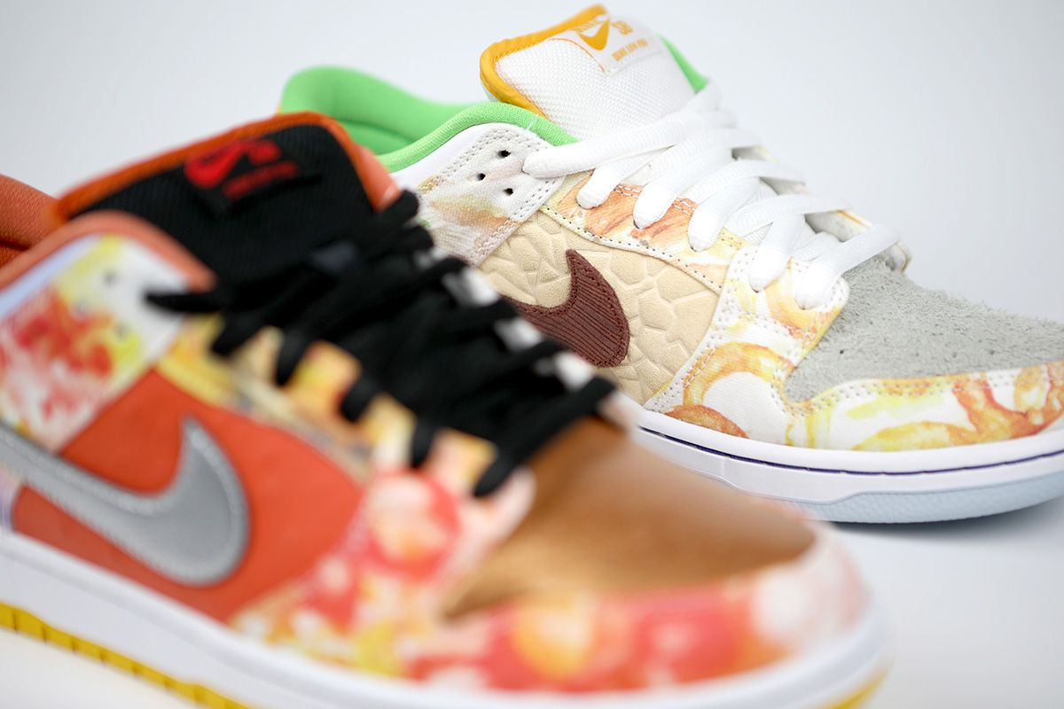 "Nike SB Appeals to Your Inner Foodie With the Dunk Low ""Street Hawker"" 50"