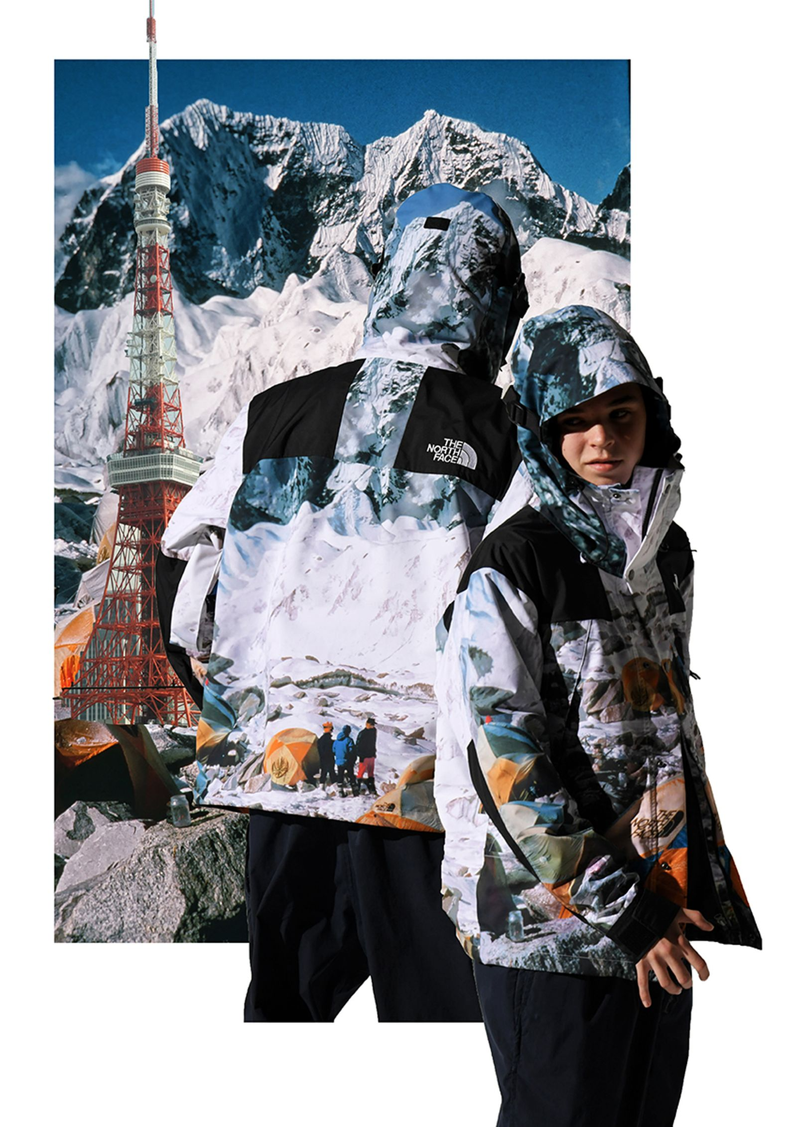 "INVINCIBLE x The North Face ""The Expedition"" Jackets"