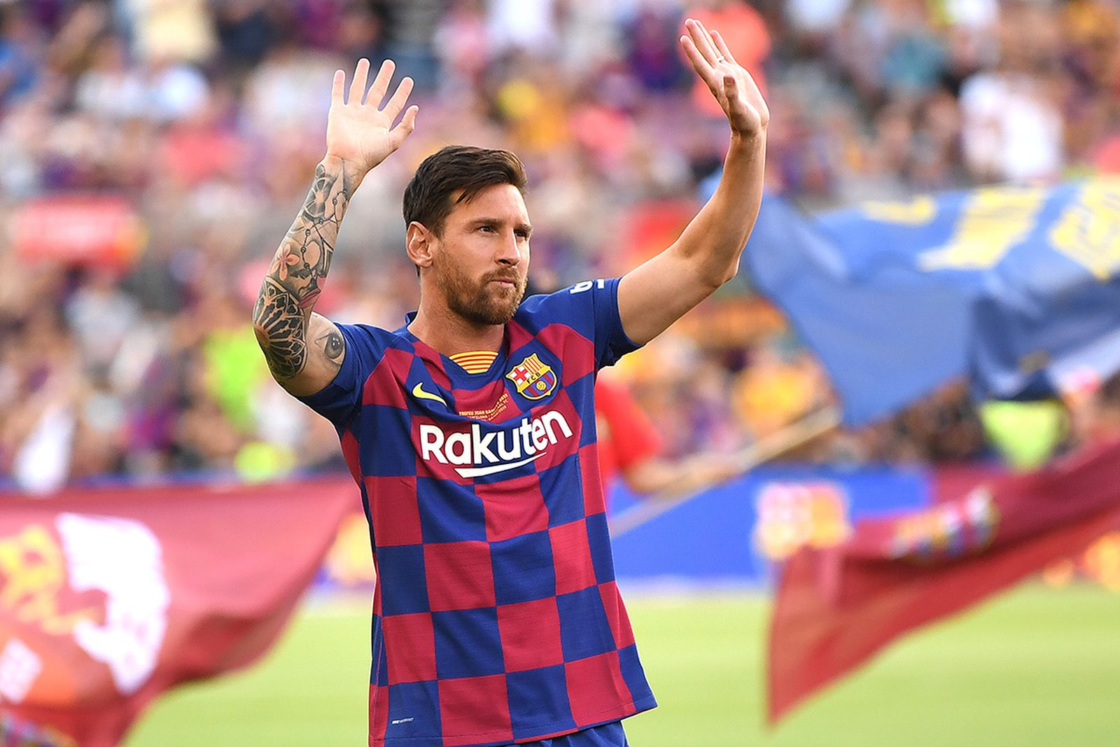 Lionel Messi Speaks Publicly Since Barca Exit Watch