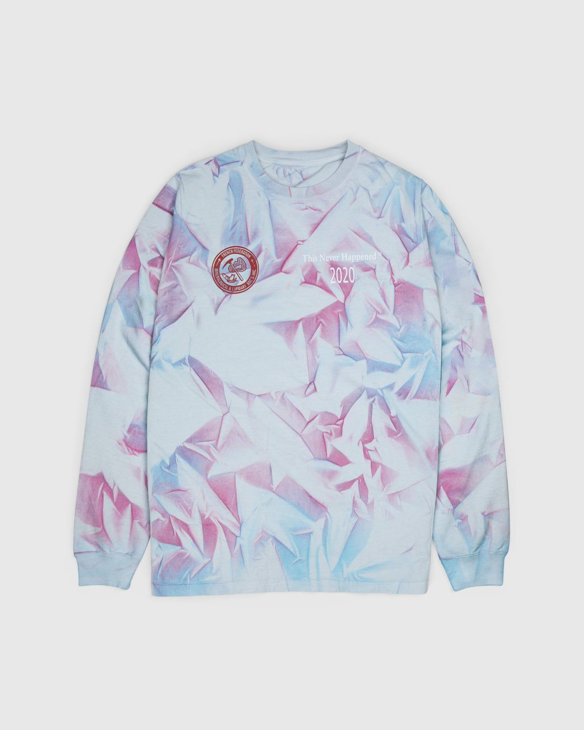 Highsnobiety —This Never Happened Minerals & Stones Fair Longsleeve Tie Dye - Image 2