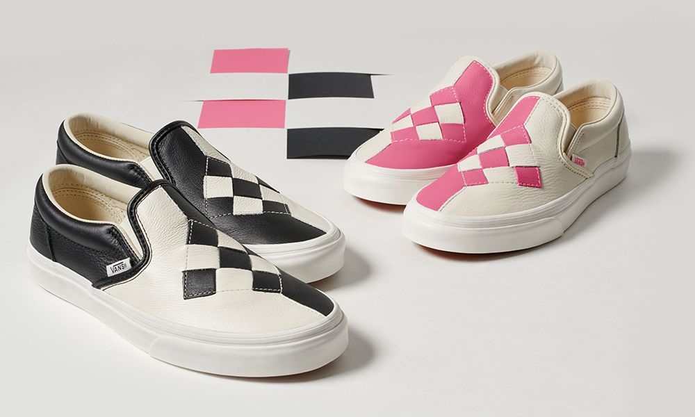 """Vans Slip On """"Woven Checkerboard"""": Where to Buy Today"""