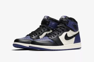 """size 40 f0f12 a0566 How   Where to Buy the Nike Air Jordan I """"Court Purple"""" Today"""