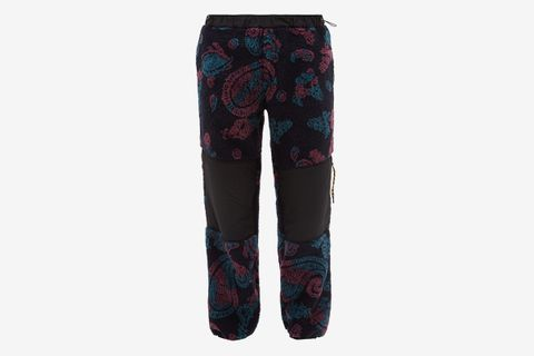 Paisley Fleece Track Pants