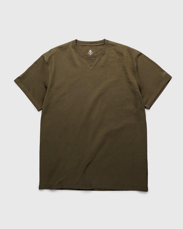 Converse x Kim Jones — T-Shirt Burnt Olive - Image 1