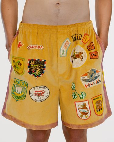 BODE - Senior Cord Rugby Shorts