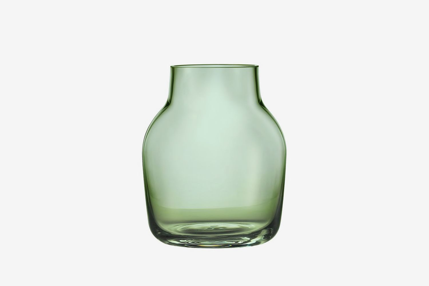 Small Silent Glass Vase