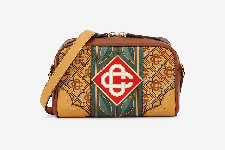 Monogrammed Cross-Body Bag