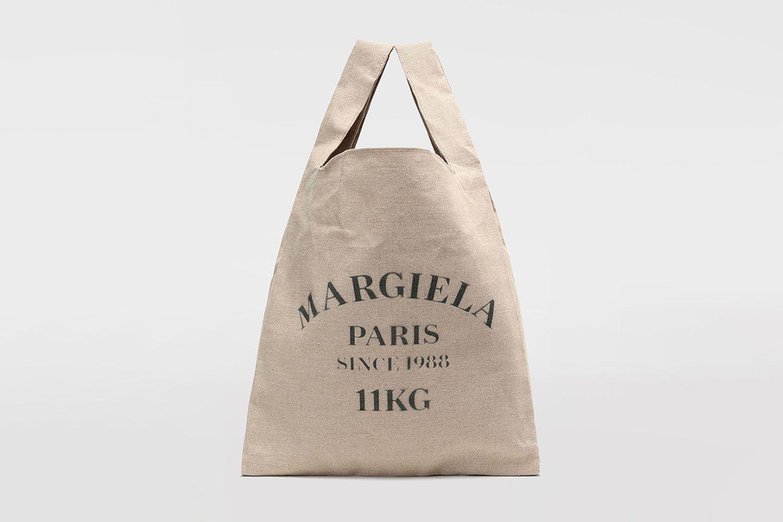 XL Linen Shopping Bag