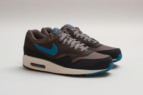 Nike Air Max 1 Essential – Smoke – Black – Blue Now