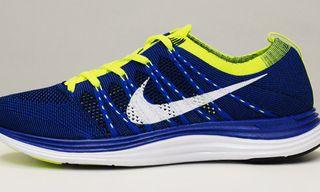 Nike Flyknit One+ Blue/Volt