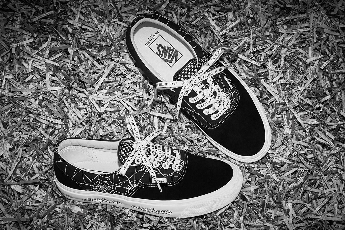 Goodhood's Punk Heritage Comes to Life on Latest Vans Collab
