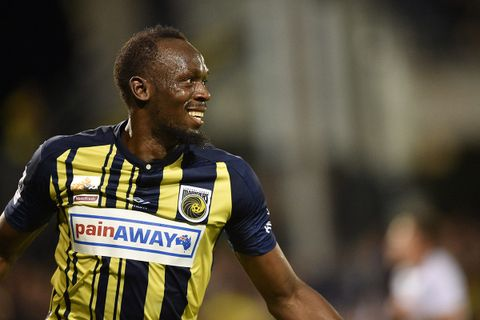 c12562e3a Watch Usain Bolt Score His First Two Goals as a Professional Soccer Player
