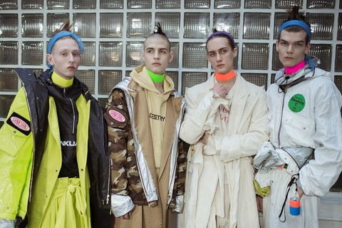 evolution space aged fashion main André Courrèges Louis Vuitton Nike