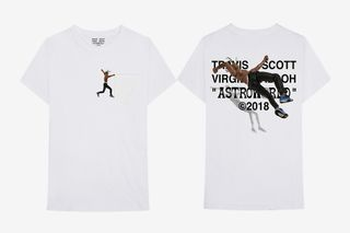 b25bb1f1240599 Virgil Abloh Is Dropping a Second Travis Scott  Astroworld  T-Shirt