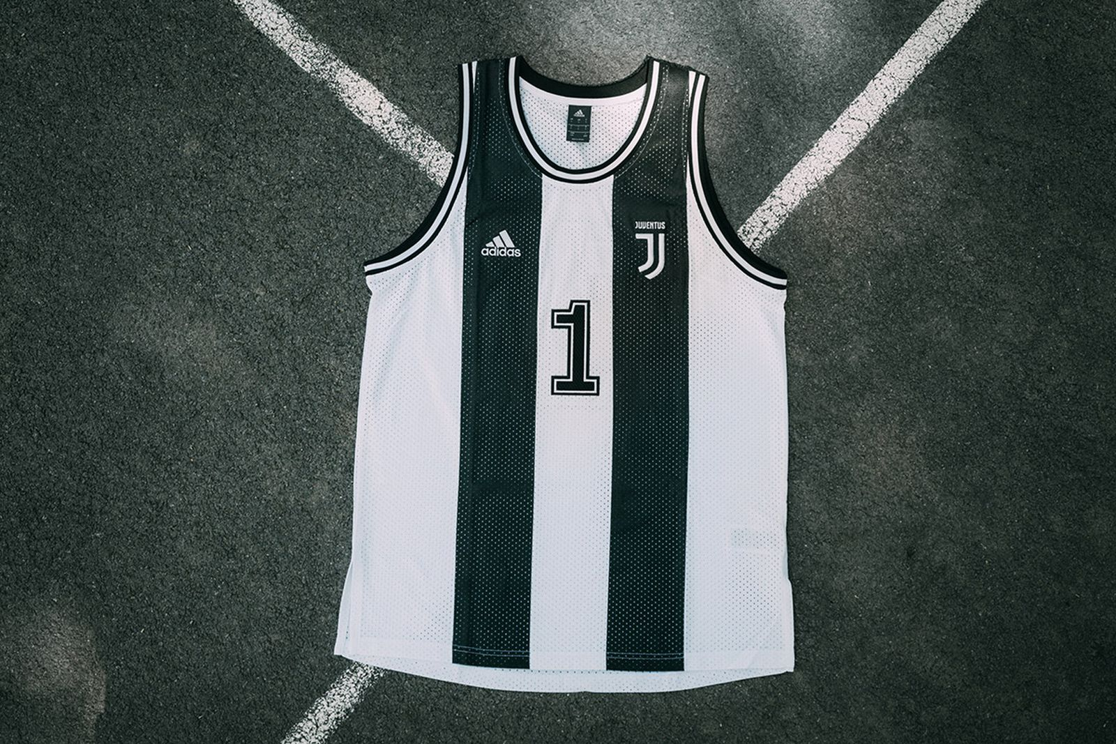 Juventus Just Dropped An Adidas Basketball Jersey