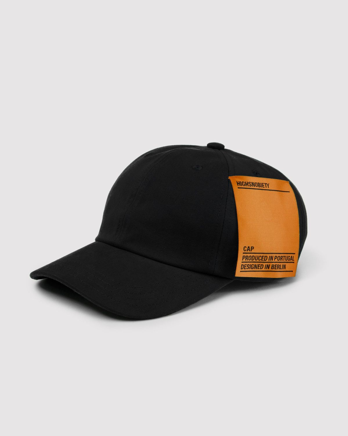 Highsnobiety Staples - Cap Black - Image 4