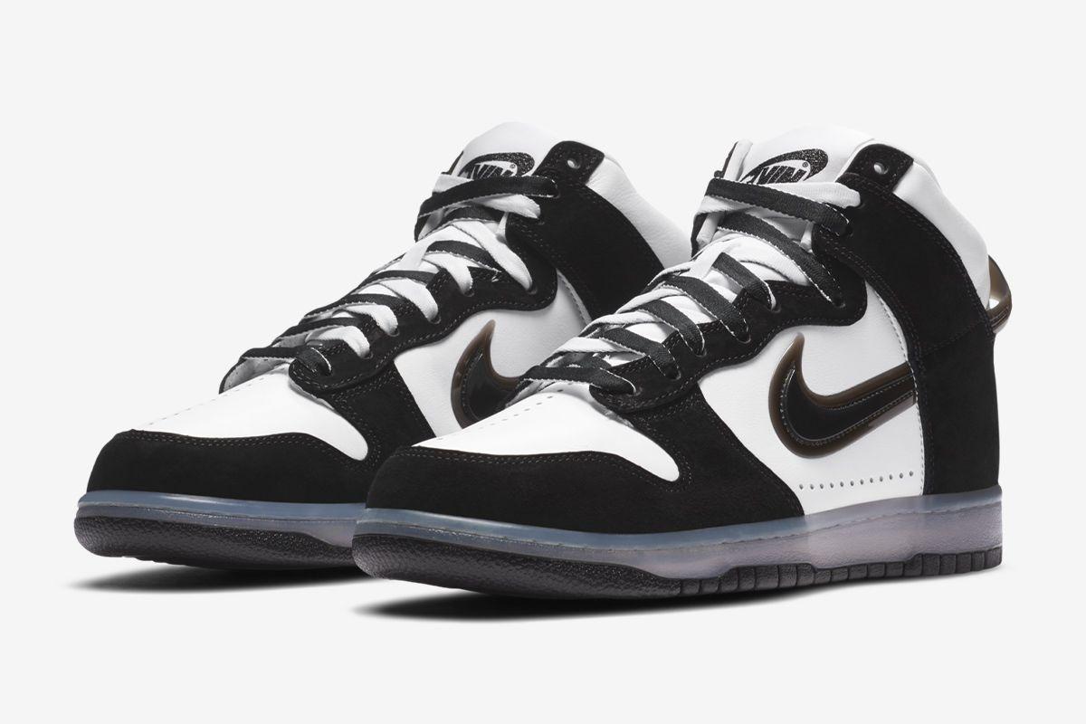 Slam Jam's Nike Dunk Flips the Swoosh Upside Down 12