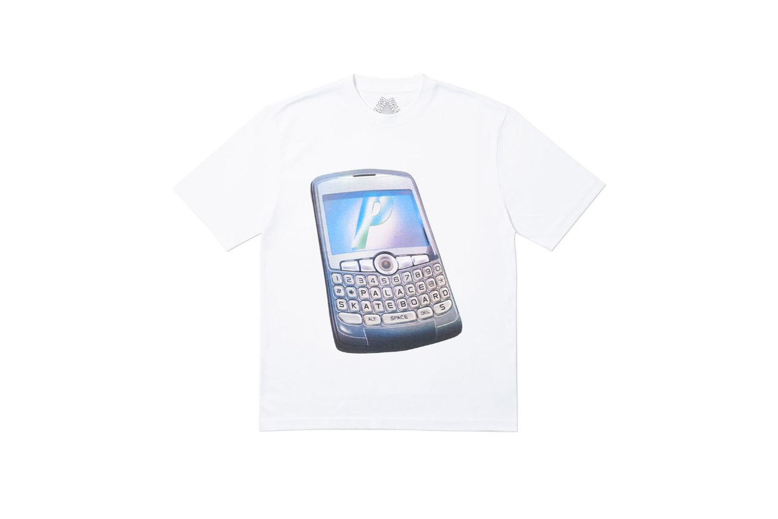 Palace 2019 Autumn T Shirt Ping white