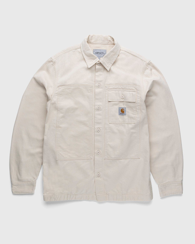 Carhartt WIP – Charter Shirt Natural - Image 1