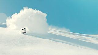 soft snowboarding short film