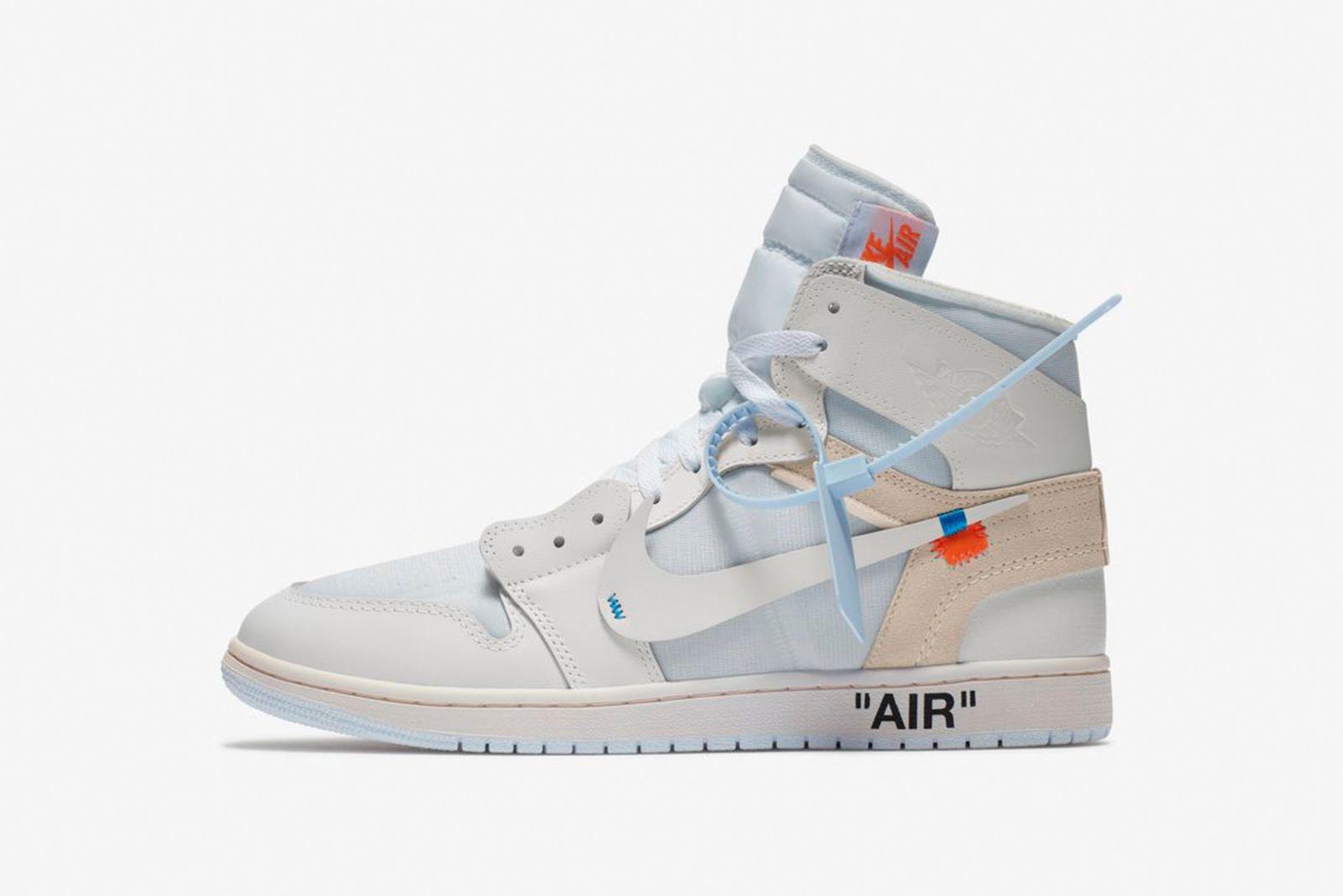 jordan 1 white GOAT Nike The Ten OFF-WHITE c/o Virgil Abloh