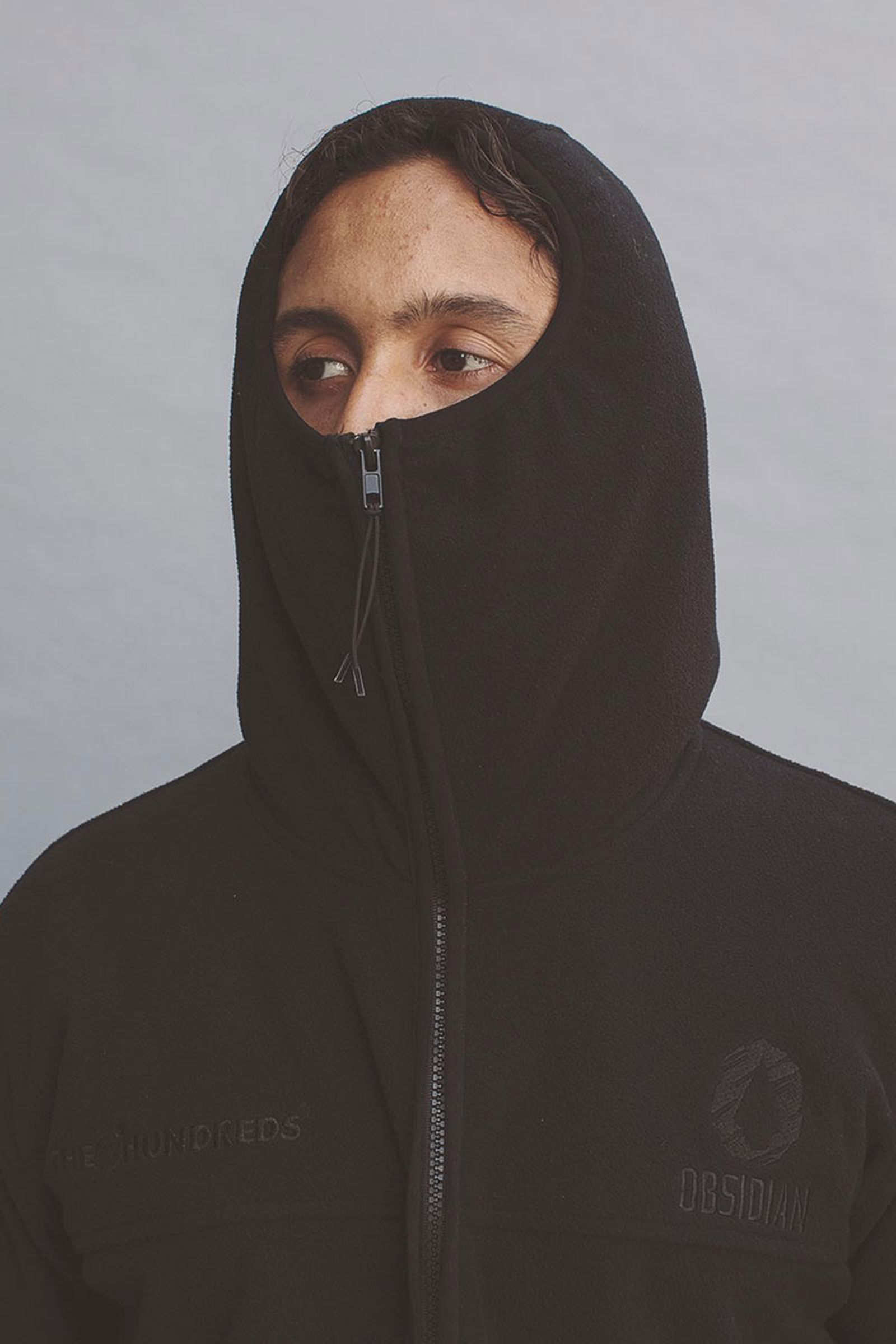 black balaclava
