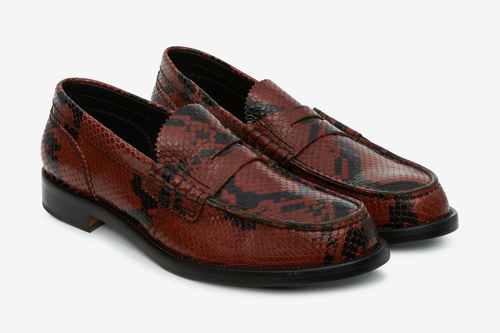 college python loafers slamjam