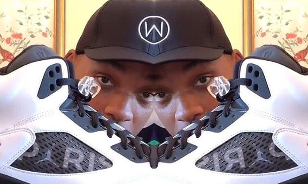 67624f4d1e05 Watch Will Smith Unbox the Paris Saint-Germain x Air Jordan Collab