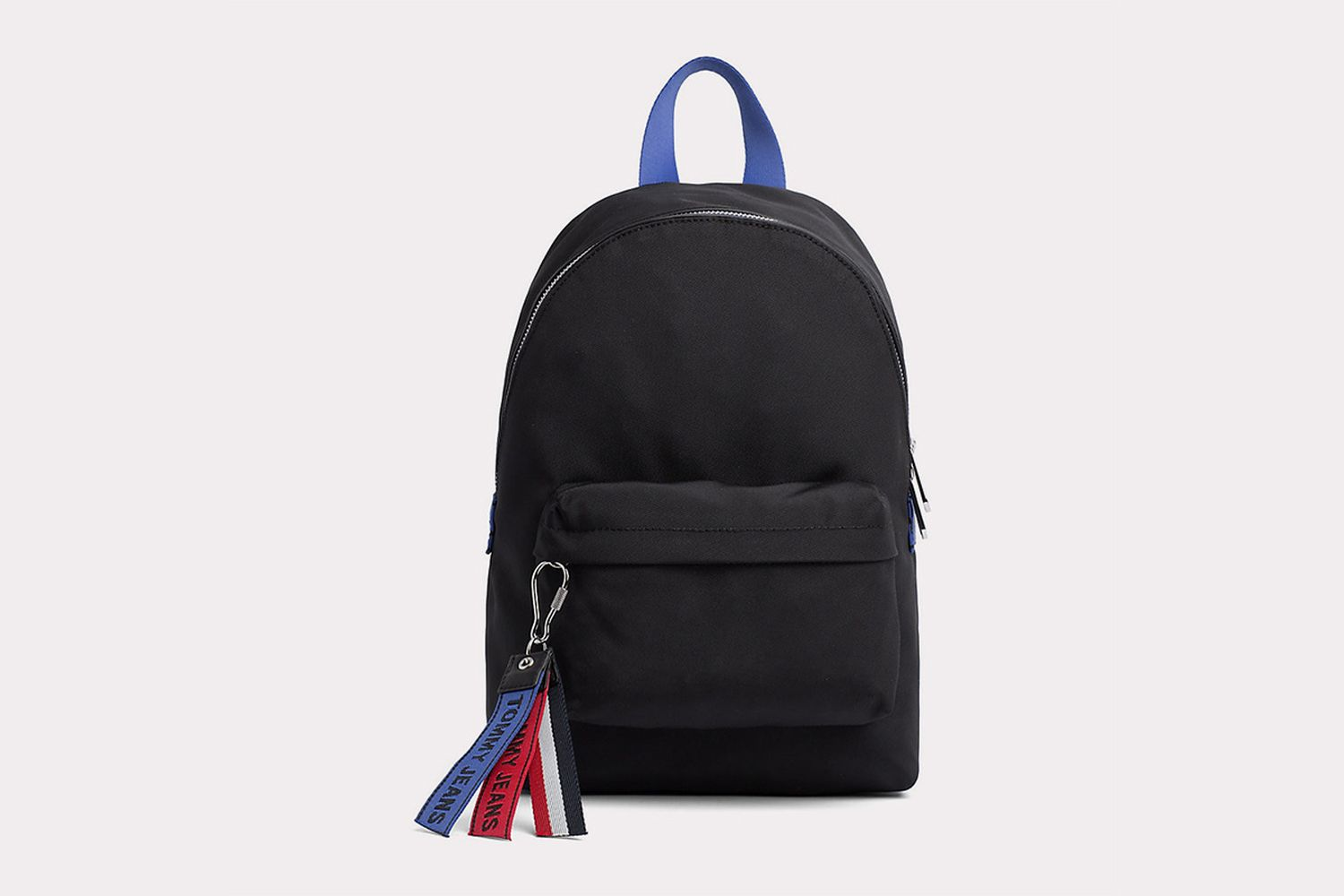 Compact Rucksack with Logo Tapes