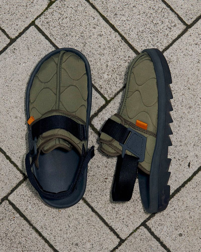 """Reebok's """"Outdoor Pack"""" Beatniks Are Sleeping Bags For Your Feet"""