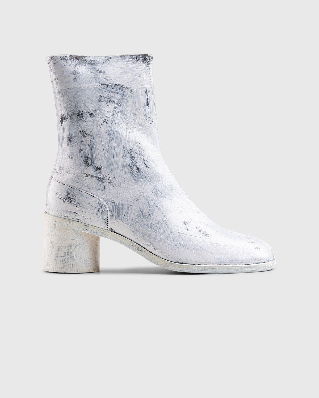 Maison Margiela – Tabi Bianchetto Chelsea Boots White - Image 1