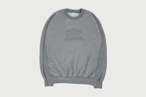 Embroidered Temple Sweatshirt