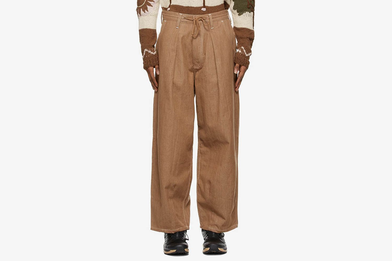 Denim Lush Cargo Pants