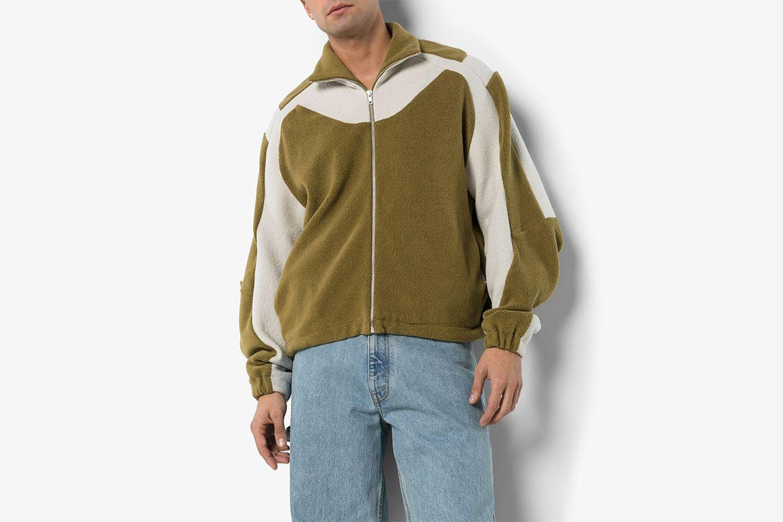 Ecran Zip Through Fleece Jacket