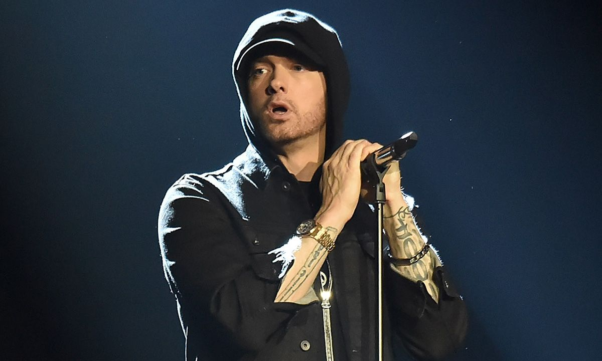 Eminem Surprise-Dropped a New Album & Fans Are Going Wild