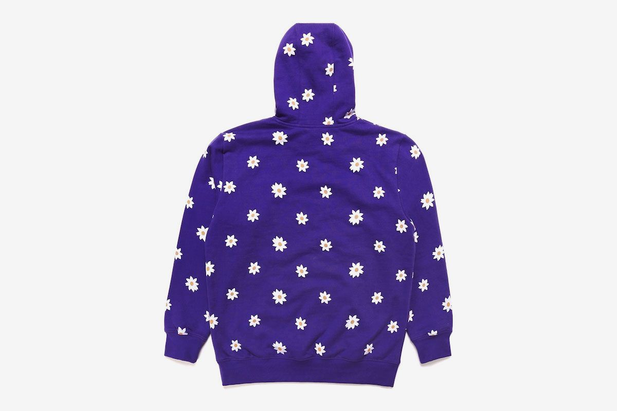 All Over Daisy Wordmark Hoodie
