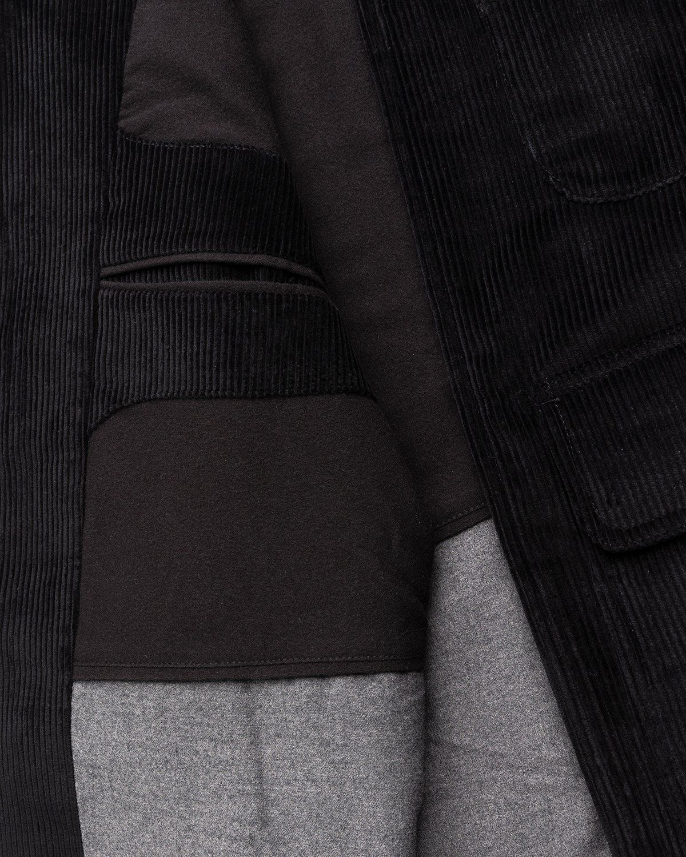 Winnie New York - Corduroy Hunting Jacket Black - Image 6